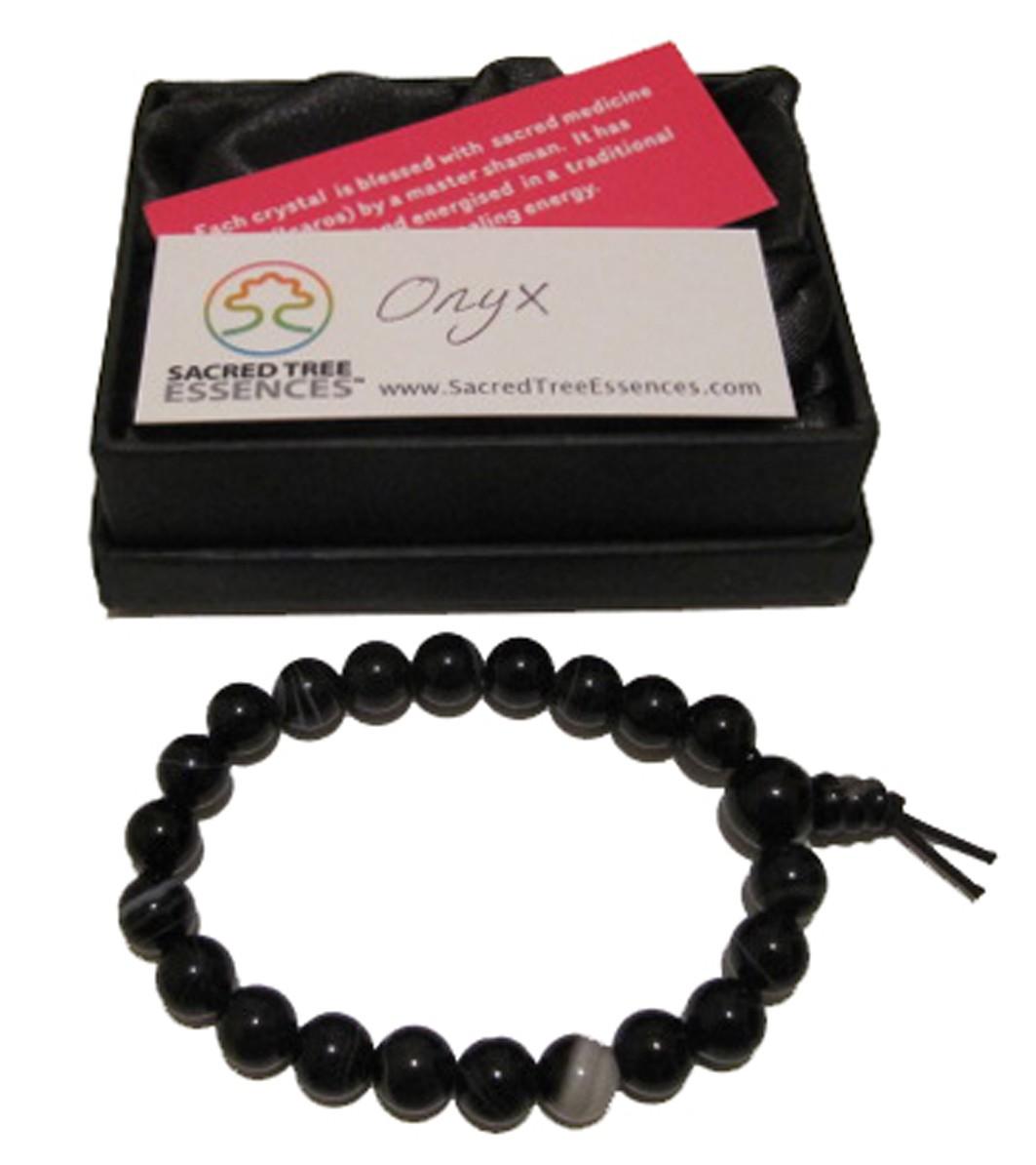 Onyx Power Bead Bracelet