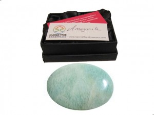 Amazonite Palmstone