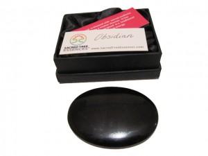 Obsidian Palmstone